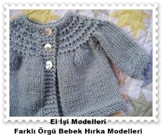 Örgü Bebek Hırka Modelleri 3