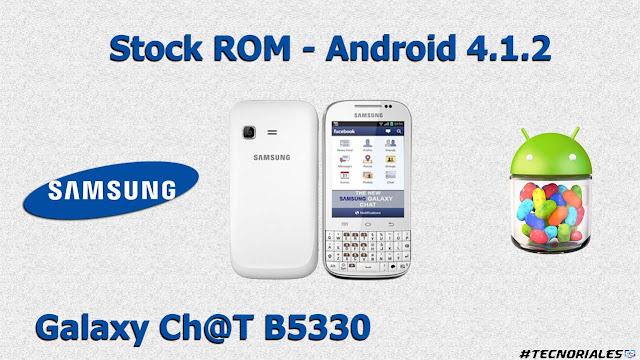 stock rom samsung galaxy chat b5330
