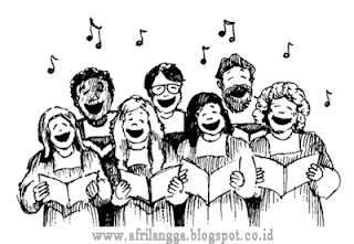 Bernyanyi Secara Unisono (Teknik Vokal & Unsur-unsur musik)