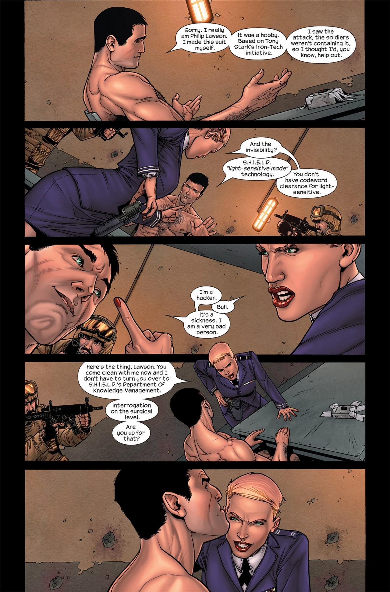 Read online Ultimate Secret comic -  Issue #2 - 9