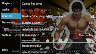How to use Combo Keys of PPSSPP (for Android)
