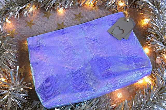 Superdrug mermaid large makeup bag Image