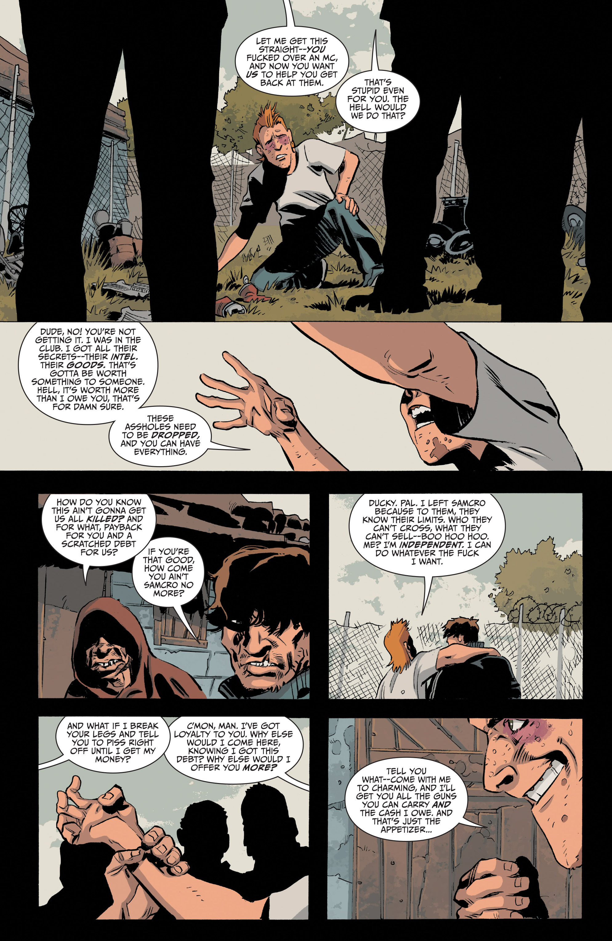 Read online Sons of Anarchy comic -  Issue #20 - 12