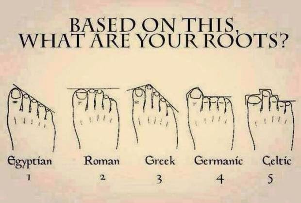 5 feet Shapes Really Indicate Your Roots - Heritage