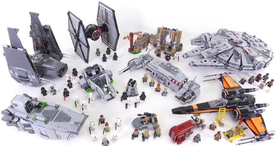 lego star wars the force awakens sets  together jan