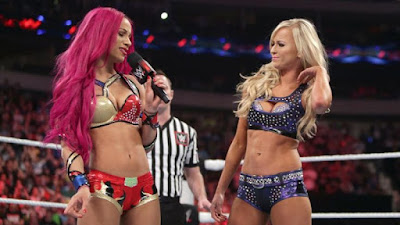 Summer Rae cuts a promo on Sasha Banks