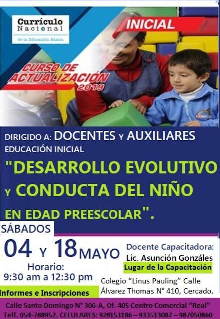 Cursode Desarrolo Evolutivo y Conducta del Niñoº23334