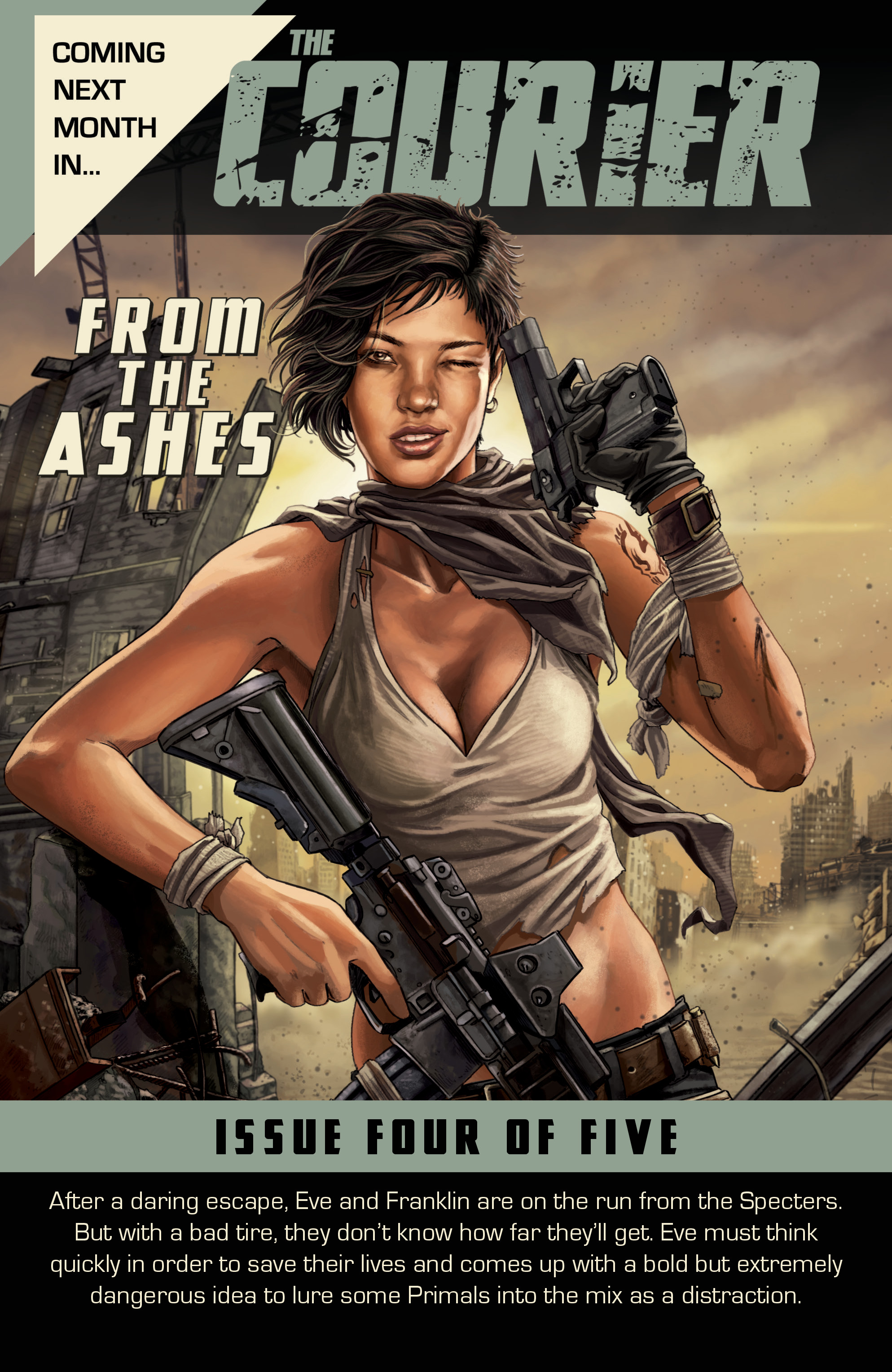 Read online The Courier: From the Ashes comic -  Issue #3 - 25