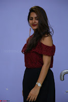 Pavani Gangireddy in Cute Black Skirt Maroon Top at 9 Movie Teaser Launch 5th May 2017  Exclusive 010.JPG