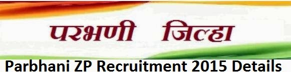 Parbhani ZP Recruitment 2015 Apply Now
