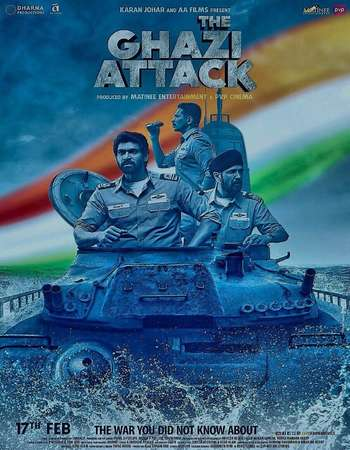 The Ghazi Attack 2017 720p Hindi HDRip ESubs