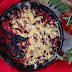 #167 Kukurydziana tarta sypana z malinami i zabłąkaną gruszką
