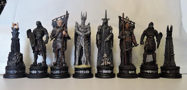 шахматы властелин колец деагостини