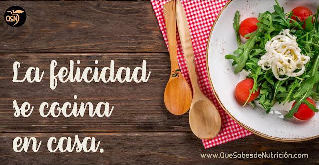 QSN: La felicidad se cocina en casa