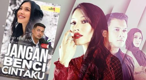 Heboh Kebencian Netizen Dengan Watak Husna. Inilah Dia Penulis Novel 'Jangan Benci Cintaku'. Bukan Biasa2 Rupanya.