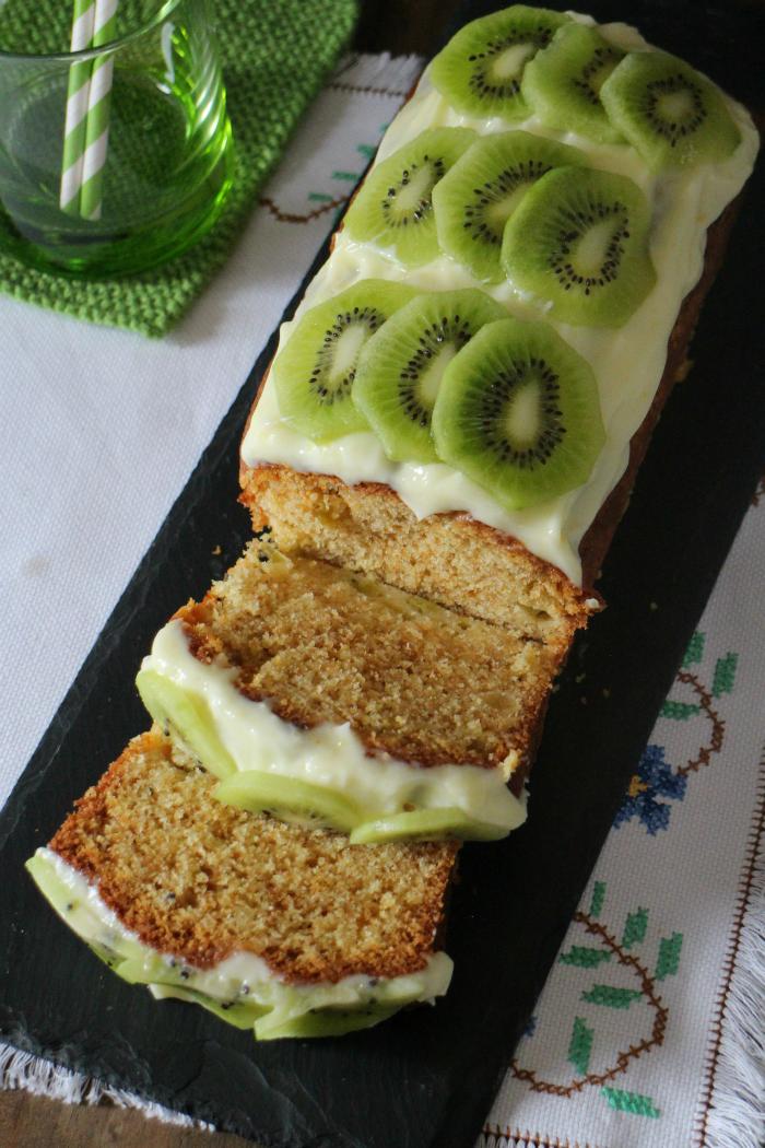 kiwi-cake, bizcocho-de-kiwi