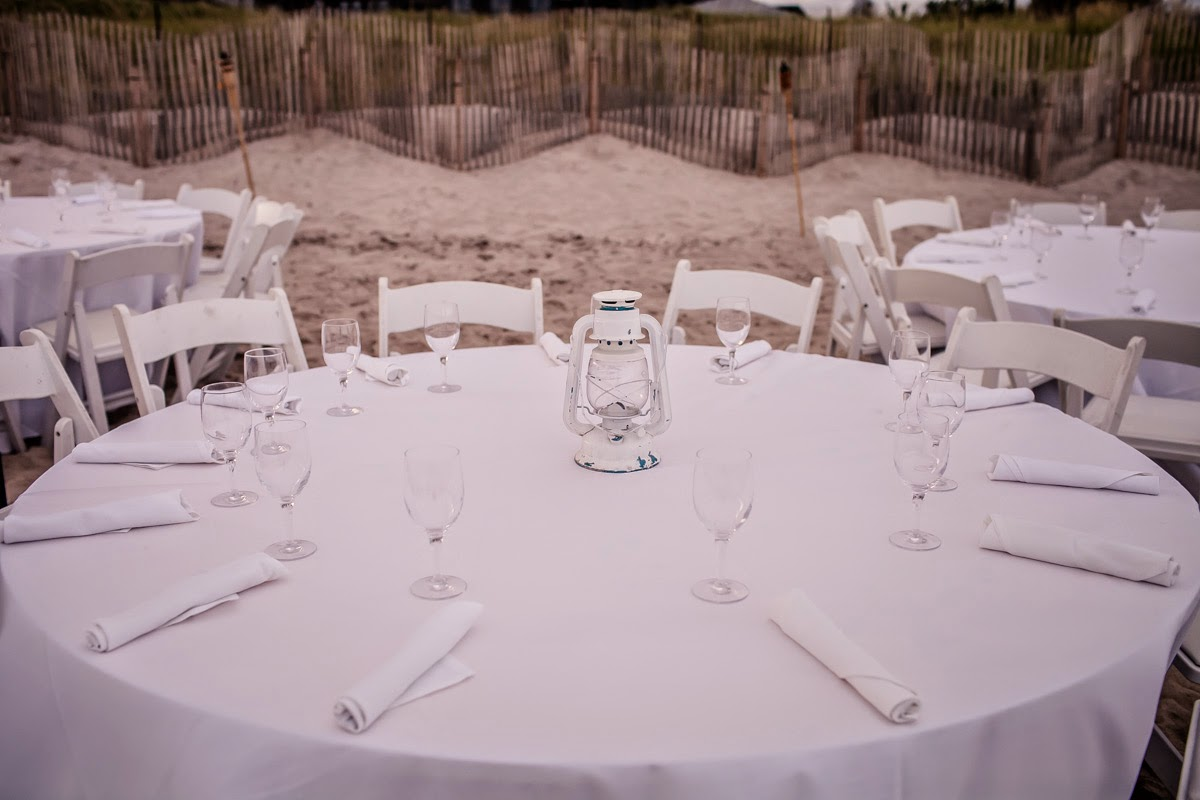 Simply Creative Beach Reception Decor