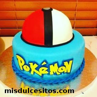 Tortas Pokemon. Venta de Tortas Pokemon en Lima, Perú. Tortas temáticas.