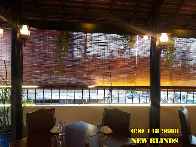 mành tre trúc che nắng mưa nhà hàng