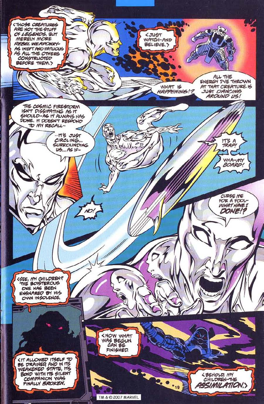 Silver Surfer (1987) Issue #113 #121 - English 21