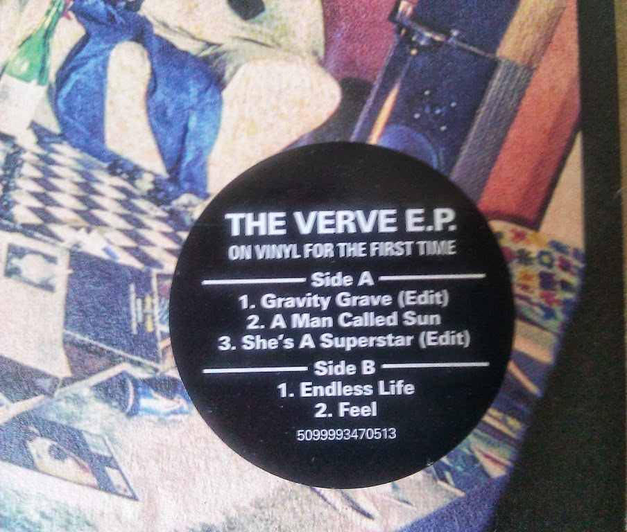 Verve E P  red vin - The Verve Live