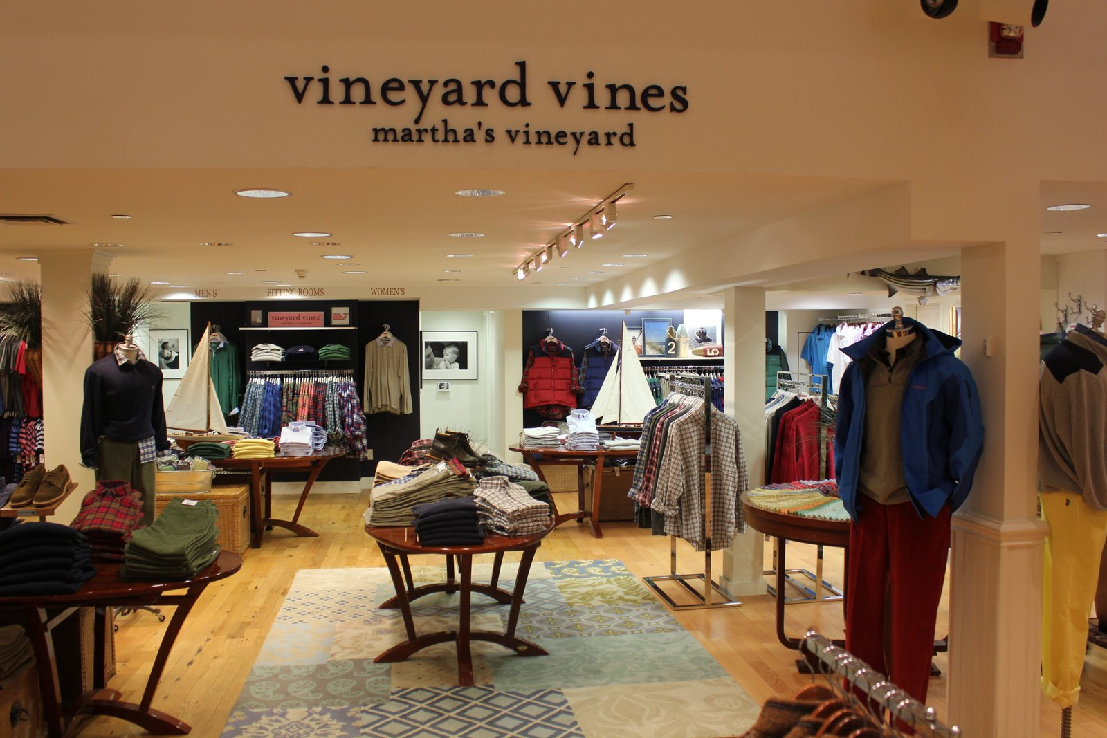 8910ecde61ff Vineyard Vines. I worked at VV during college and in my experience outside  of the ties nothing in the store was of very good quality.