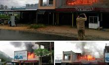 Kebakaran Ruko Di Bengkayang