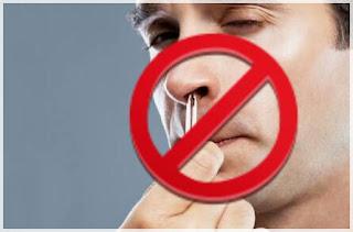 Bahaya kebiasaan mencabut bulu hidung
