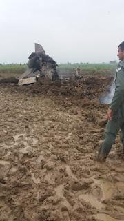 Pesawat MiG-21UM AU India Jatuh