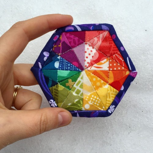 Mini Prismatic Medallion - Free Pattern