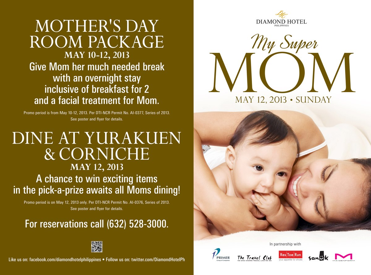 hotel deals mothers day
