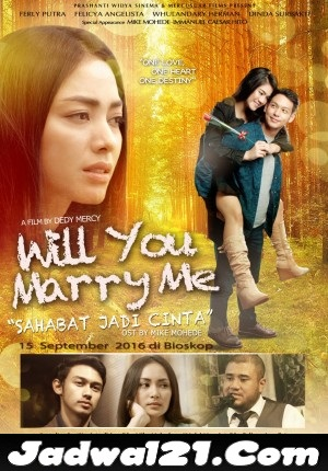 Film WILL YOU MARRY ME 2016