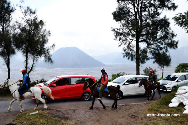 Berkeliling Gunung Bromo dengan Toyota Calya