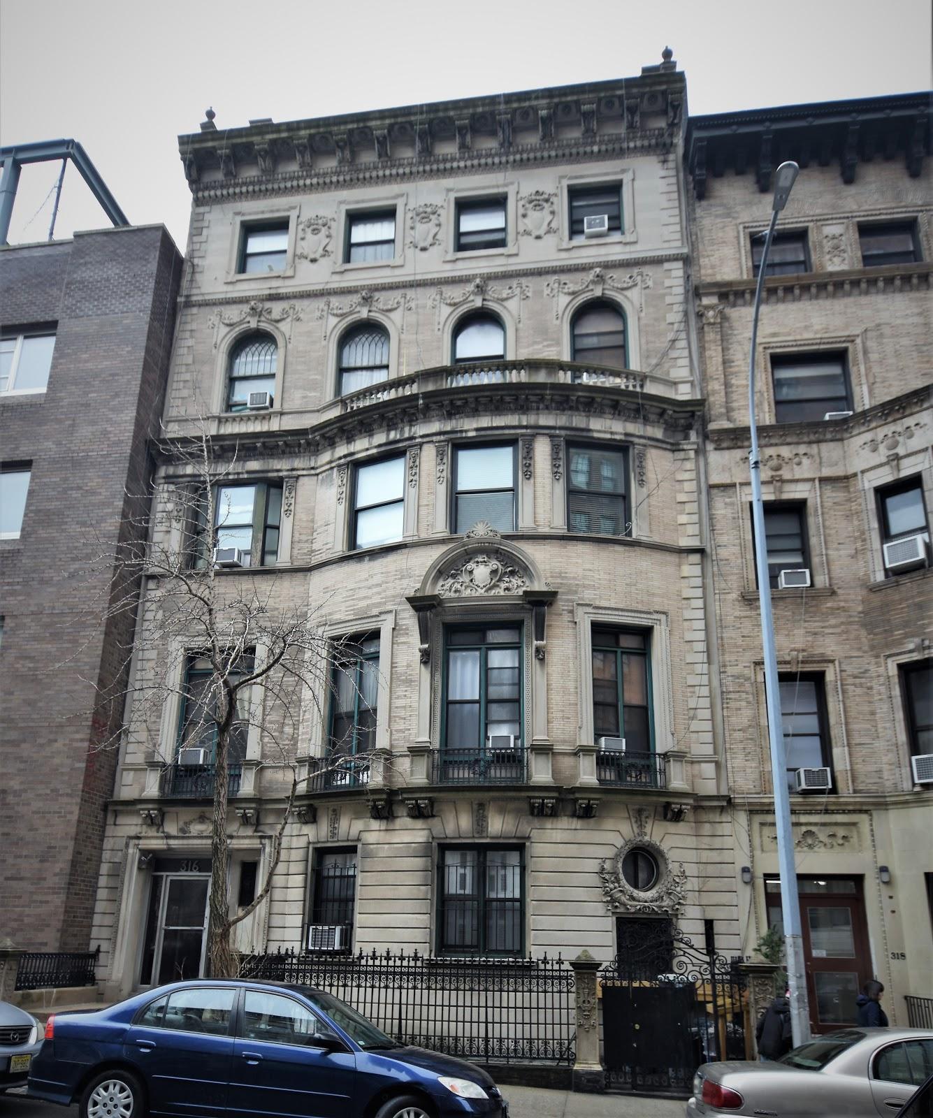 Streets In Manhattan: Daytonian In Manhattan: The 1897 Richard S. Barnes Mansion