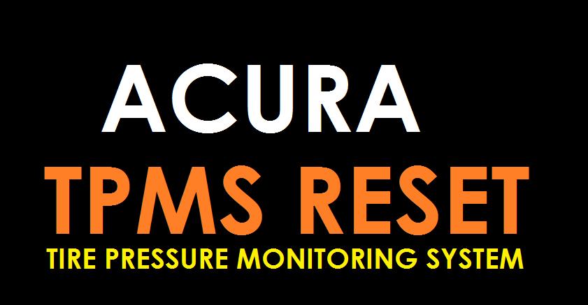 2008 acura csx tpms sensor manual