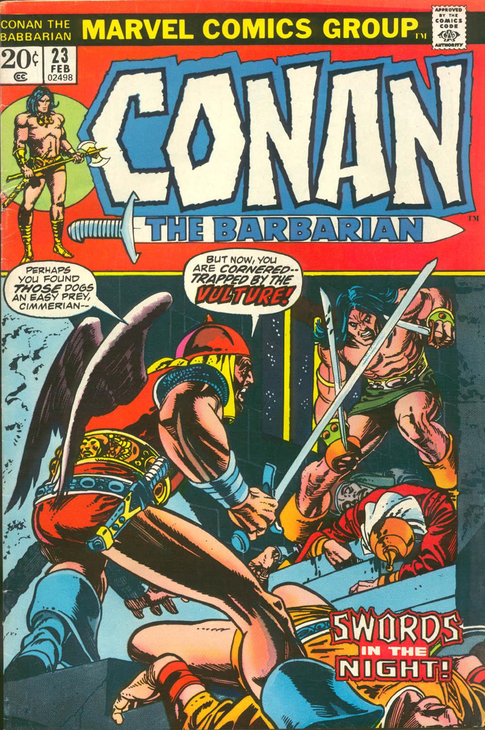Conan the Barbarian (1970) Issue #23 #35 - English 1