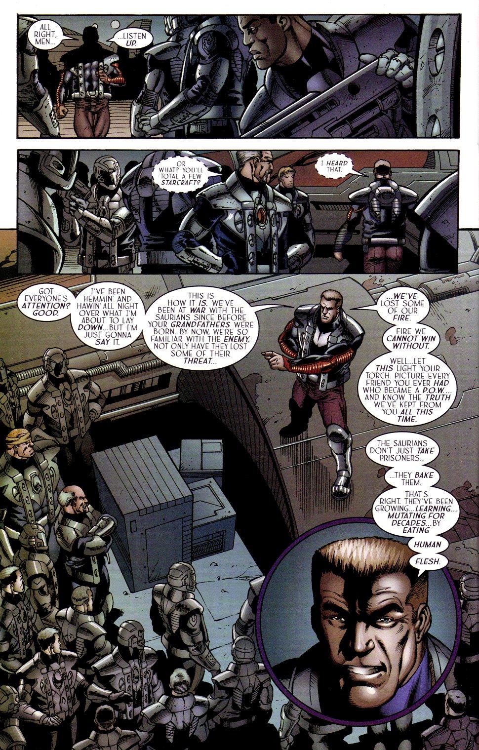 Read online Sigil (2000) comic -  Issue #15 - 22