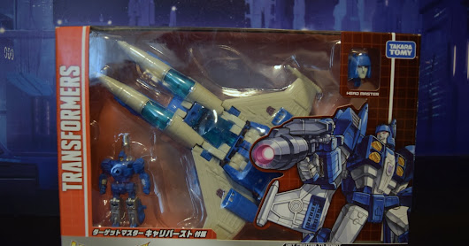 Transformers Takara Tomy Legends LG55 Slugslinger and Caliburst Targetmaster review!