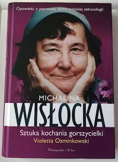 okładka książki Michalina Wisłocka Sztuka kochania gorszycielki