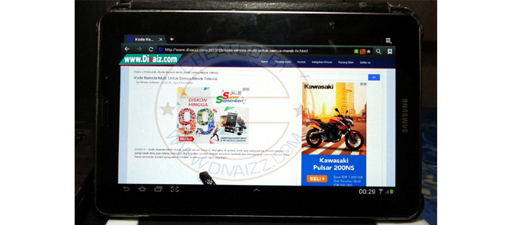 Cara Flash Samsung Galaxy Tab 7.7 P6800 ke Jelly Bean via Odin