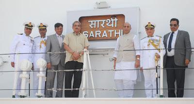 Indian Coast Guard ship 'Shaurya' commissioned in Goa