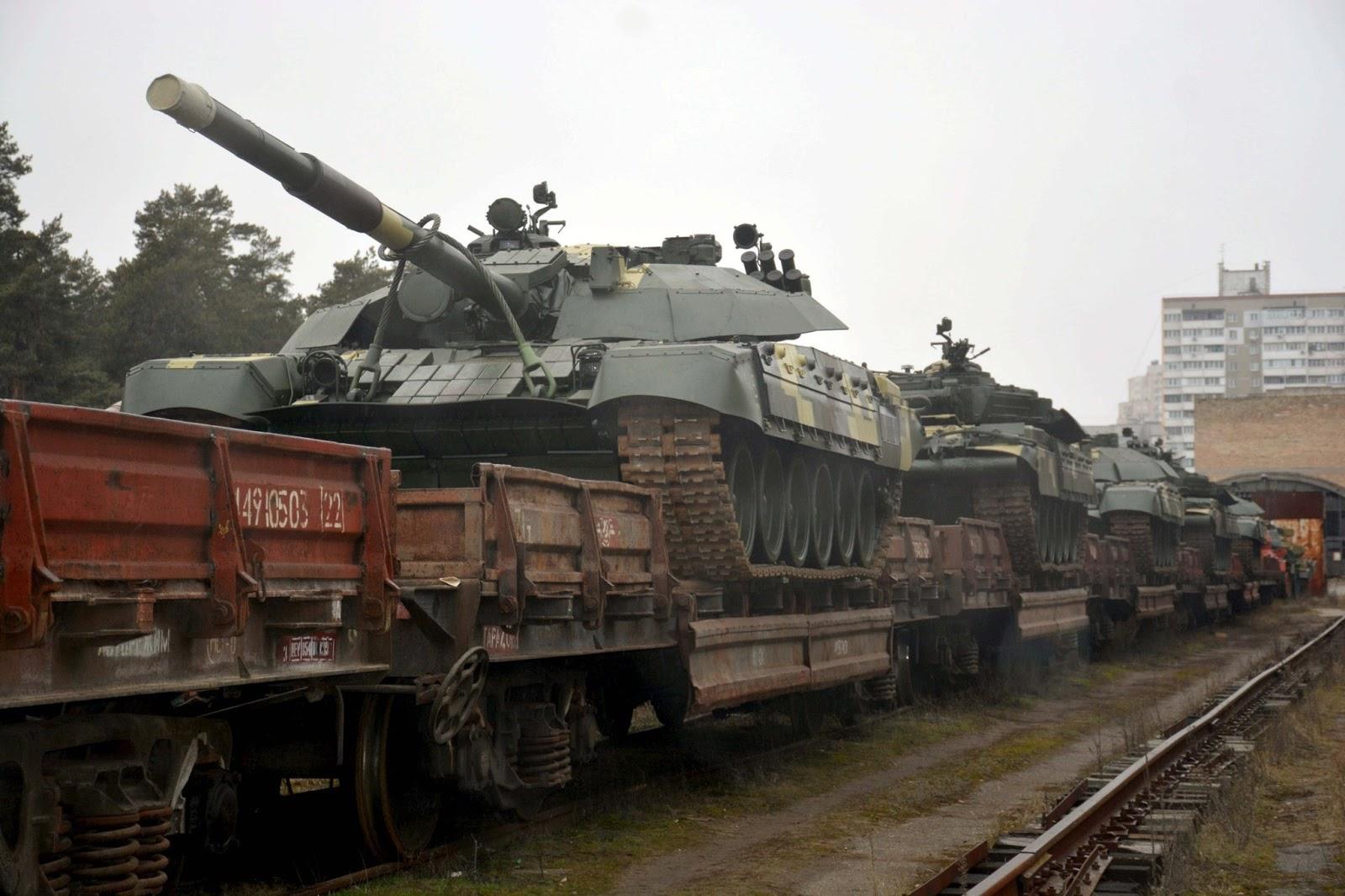 ЗСУ розпочали прийом батальйону модернізованих танків