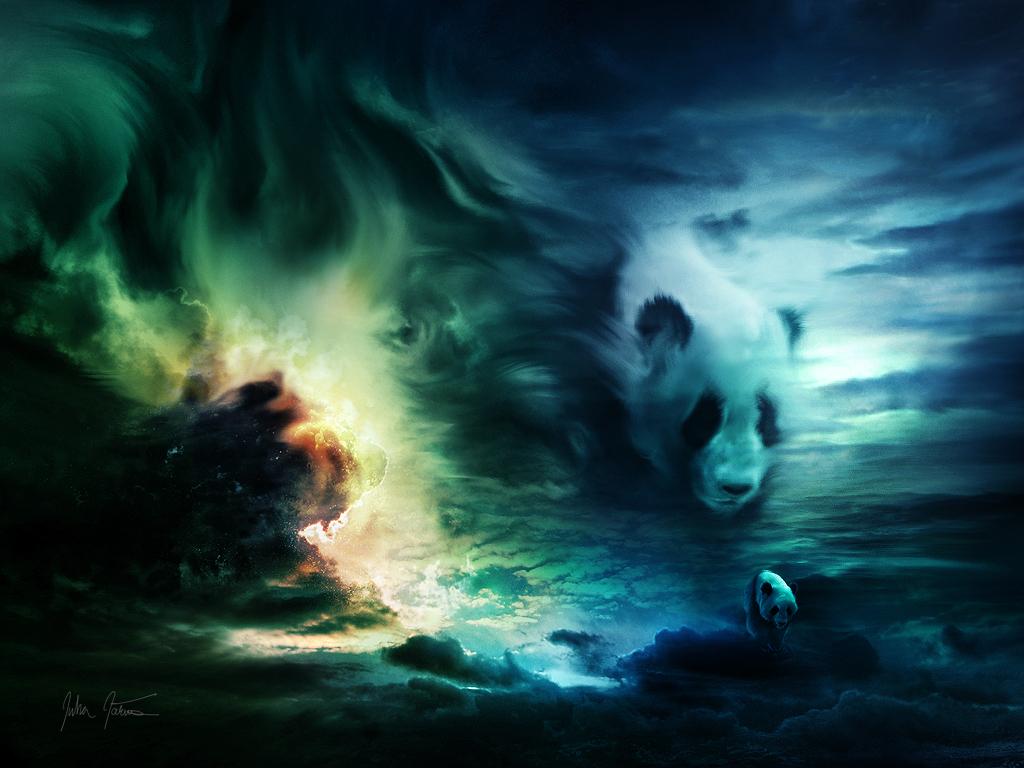 Gambar Panda Lucu Lengkap - Gambar Foto