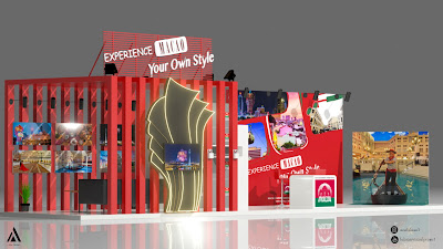 Visual Project Booth Design untuk Macao