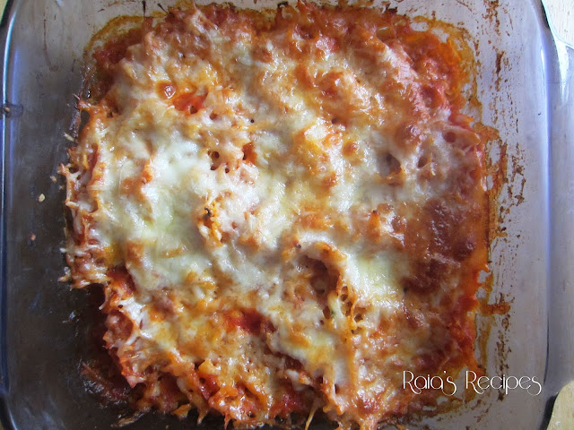 "Easy Twice-Baked Spaghetti Squash ""Pizza"" by Raia&squot;s Recipes"