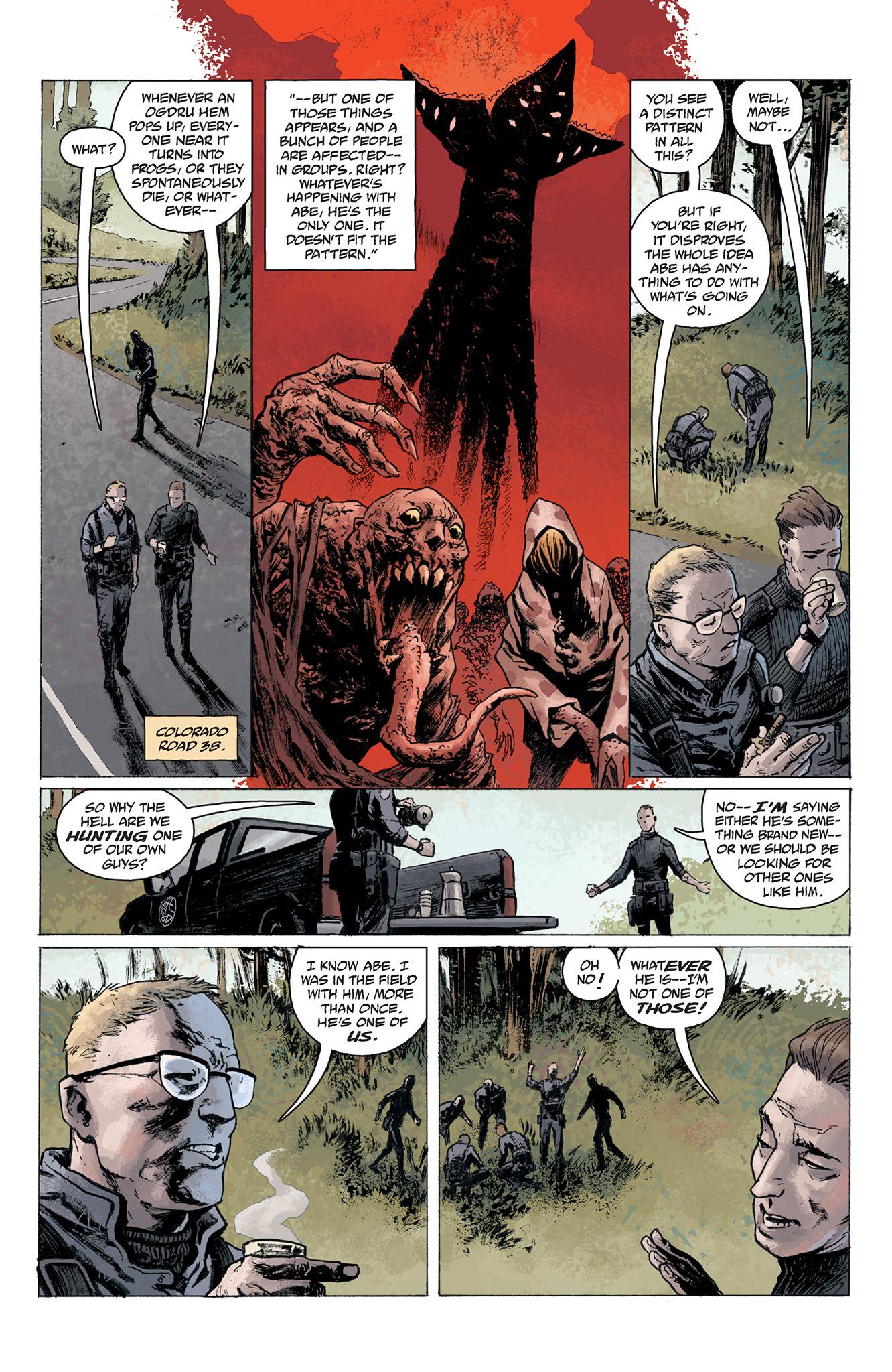 Read online Abe Sapien comic -  Issue #2 - 14