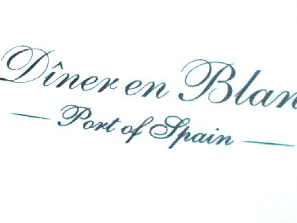 Diner en blanc - Port of Spain: The Experience