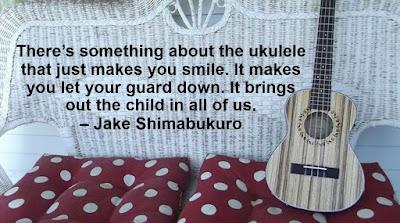 Ukuleles (Blogging Through the Alphabet) on Homeschool Coffee Break @ kympossibleblog.blogspot.com