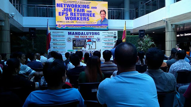 Philippine EPS Center Hosted Networking and Job Fair for EPS Returnee Workers