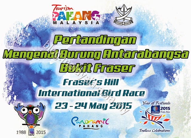 Fraser's Hill International Bird Race 2015